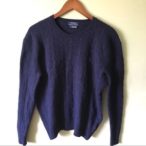 Polo Ralph Lauren Italian Yarn Cable-Knit Sweater